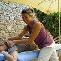 Reprise des ateliers massage en spetembre 2007