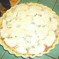 Tarte bolo-mozza