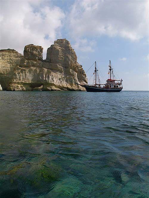 Baie de Kleftiko (Milos)