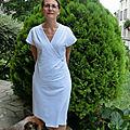 Pour tester les robes modes et travaux: la robe de plage
