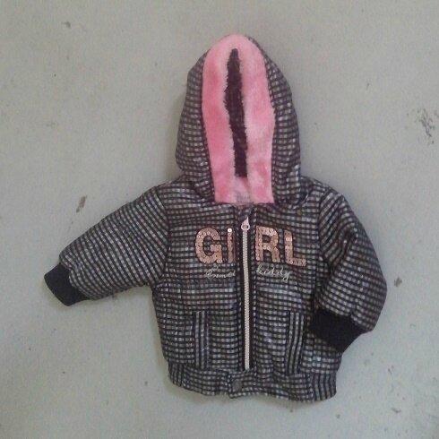 Anorak girl paillettes, 6 mois