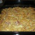 Gratin de macaroni au fromage