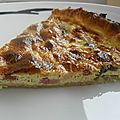 Tarte champignons lardons
