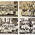 Classes maternelles et CP <b>école</b> de La <b>Souys</b> années cinquante