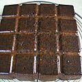 Brownies aux pistaches et pépites de chocolat