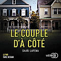 Le couple d'à côté, de shari lapena