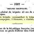 Bonnier Gal de Brigade_Légion d'honneur 1909