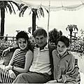 <b>1987</b>, Béatrice Dalle, Jean-Claude Brialy & Charlotte Gainsbourg