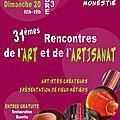 LES RENCONTRS DE L'ART ET DE L'ARTISANAT A <b>PLAISANCE</b> DU <b>TOUCH</b>