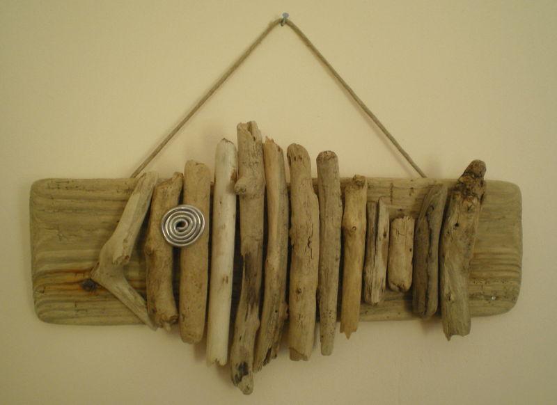 poisson en bois flotté - Photo de A accrocher ou à suspendre - LA ...