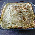 Parmentier de canard au parmesan de cyril lignac