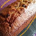 Cake aux lentilles corail, epices et pepites de chocolat