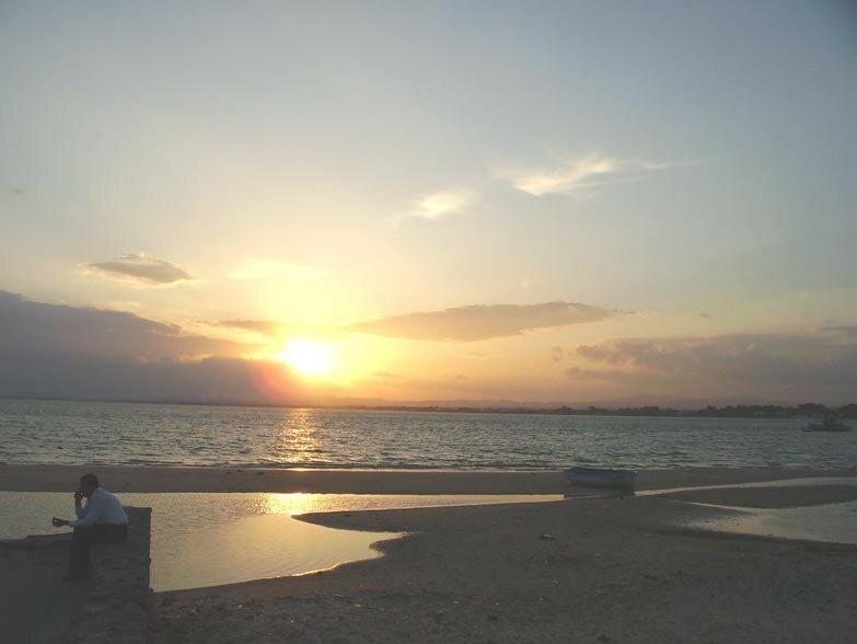 Le coucher de Soleil du 27 septembre 2006 (Golfe d'Hammamet)