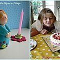 personnage gâteau anniversaire 7