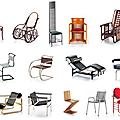 Chaises miniatures