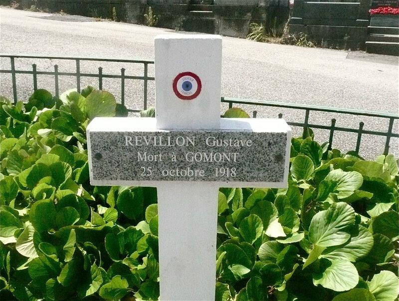 Gustave Revillon, tombe