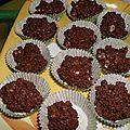 Rocher chocolat noisette