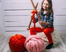 """Tricoter avec les bras: le """"Arm Knitting """""""