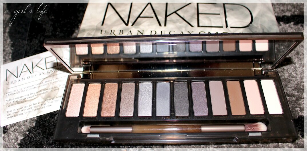 Urban Decay et sa superbe palette NAKED SMOKY .