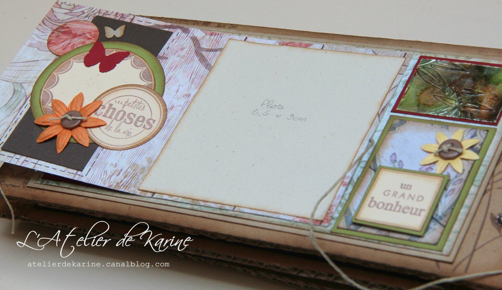 mini album - cadeau pour Sandra 2