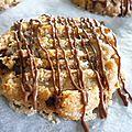 Biscuits au beurre de cacahuètes et chocolat