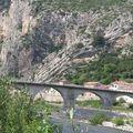 Anduze : autre vue du pont