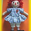 <b>poupée</b> de <b>chiffon</b> raggedy ann