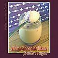 Crème au chocolat blanc et aux fruits rouges avec ou sans yaourtière multidélices seb