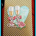Carte anniversaire de mariage (pour christophe et emma)