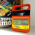 Jeu <b>électronique</b> ... LA DICTEE MAGIQUE (1981) * Texas Instruments