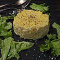 Gateau de chou fleur au parmesan