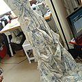 2013 robe n°45 priscilla hommage a la toile de jouy et aux tissus chemises