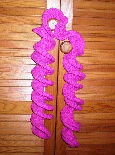 Echarpe nouille de Noa/ Bufanda espiral de Noa