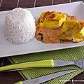 Curry de poisson à la moutarde