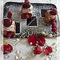Un gâteau moelleux chocolat blanc et framboises.....