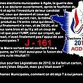 <b>Campagne</b> des municipales <b>à</b> Agde J-161 ( humour )...