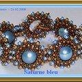 Saturne bleu