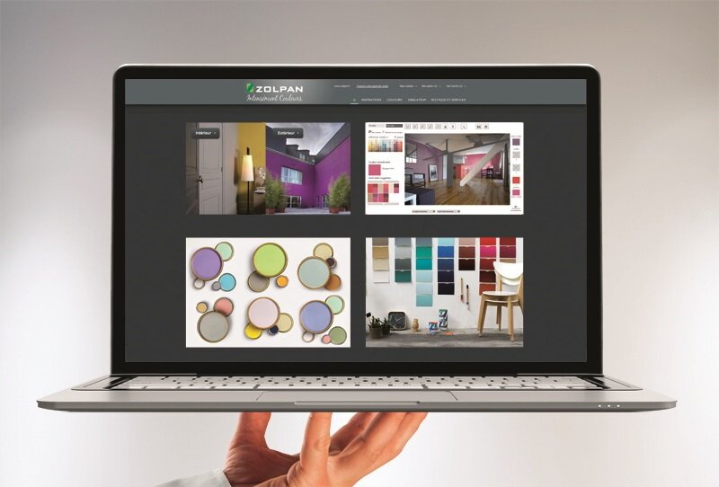 d co comment choisir sa peinture un site haut en couleurs outil en ligne et promo c 39 est. Black Bedroom Furniture Sets. Home Design Ideas
