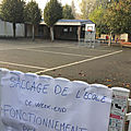 Vienne : l'<b>école</b> Langevin-Wallon de Naintré vandalisée, 123 élèves privés de cours