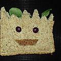 <b>Bébé</b> <b>Groot</b> à croquer, Foodista Challenge #32