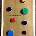 Planche à visser et à dévisser - Activité Montessori pour mes 3 <b>choupinettes</b>!