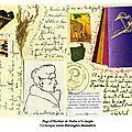 Page d'herbier de poche n°6 simple