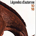 * * * legendes d'automne - jim harrison