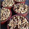 Crumble aux pommes - version light -