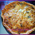 Tourte, quiche ou tarte à la ratatouille ( recette antigaspi)