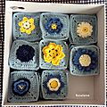 40 granny squares pour le cal the meadow