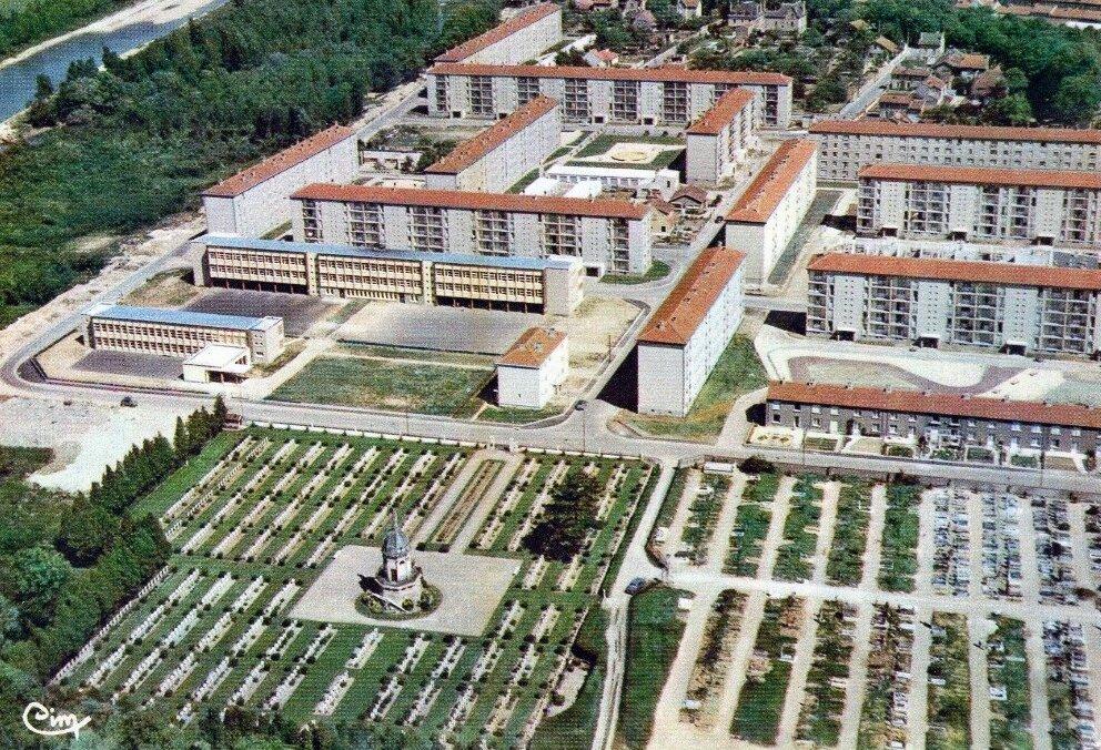 Vitry-le-François (Marne), cité de la Fauvarge