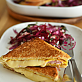 CROQUE-MONSiEUR JAMBON-FROMAGE-OEUF