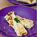 Cannelloni aux poireaux et poissons fumés