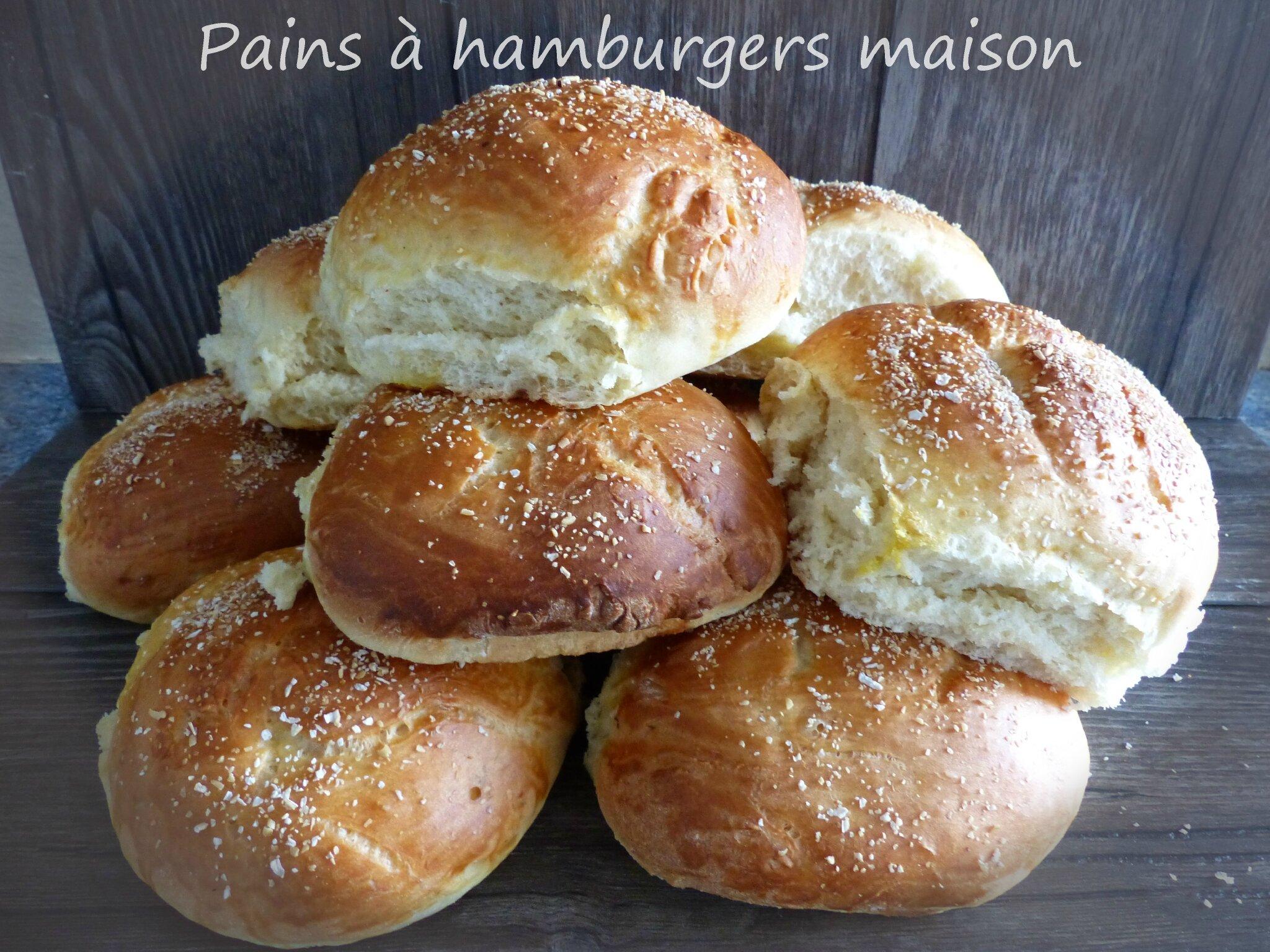 Pains à hamburgers